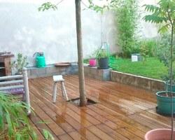 JFL PAYSAGE - Bron - Terrasse en bois - Terrasse en Cumaru