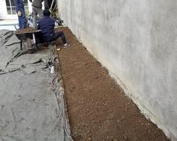JFL PAYSAGE - Bron - Plantations et Paillage minéral- pendant travaux-